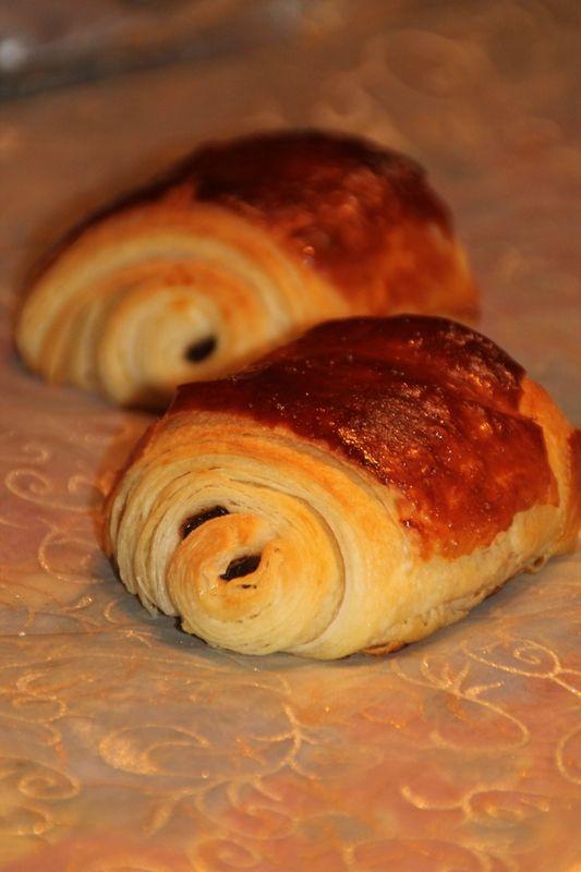 Petits pains au chocolat comme chez le boulanger