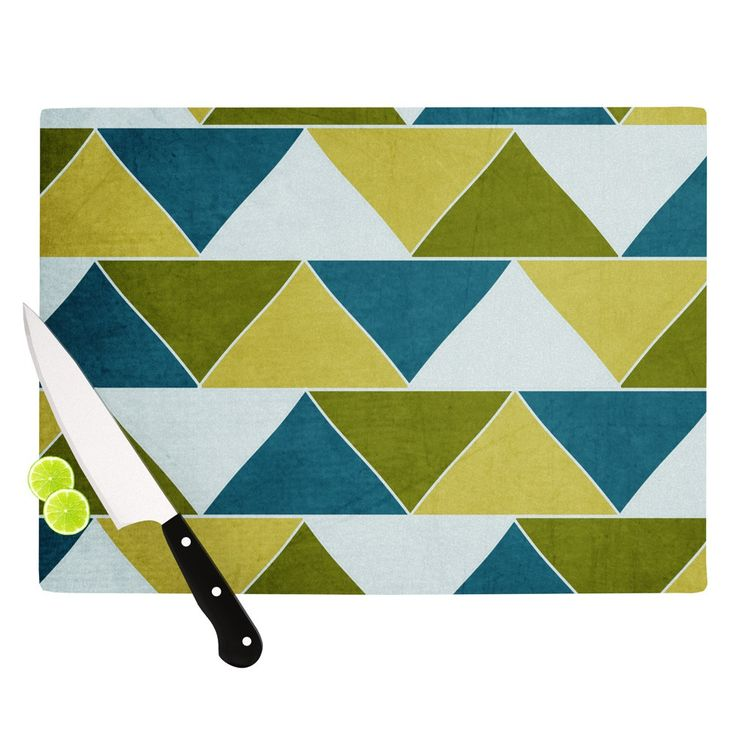 "Catherine McDonald ""Mediterranean"" Cutting Board"