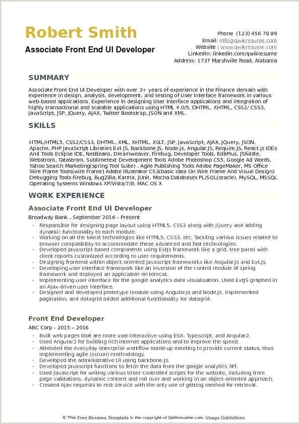 Fresher Resume Format For Java In 2020 Resume Format Resume Resume Template Professional