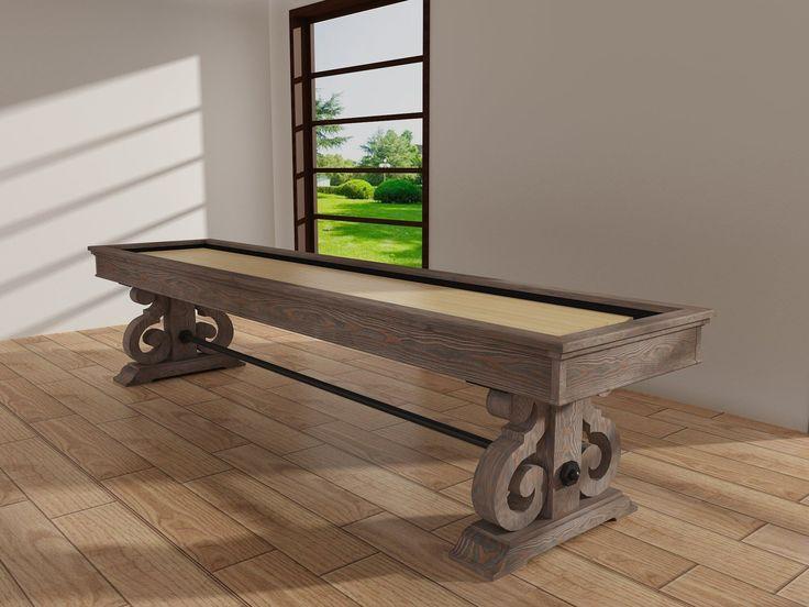 Superb Barnstable 12u0027 Shuffleboard Table