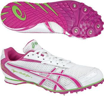 Into athletics? Ladies Asics Hyper Rocket long distance running spikes   eBay UK