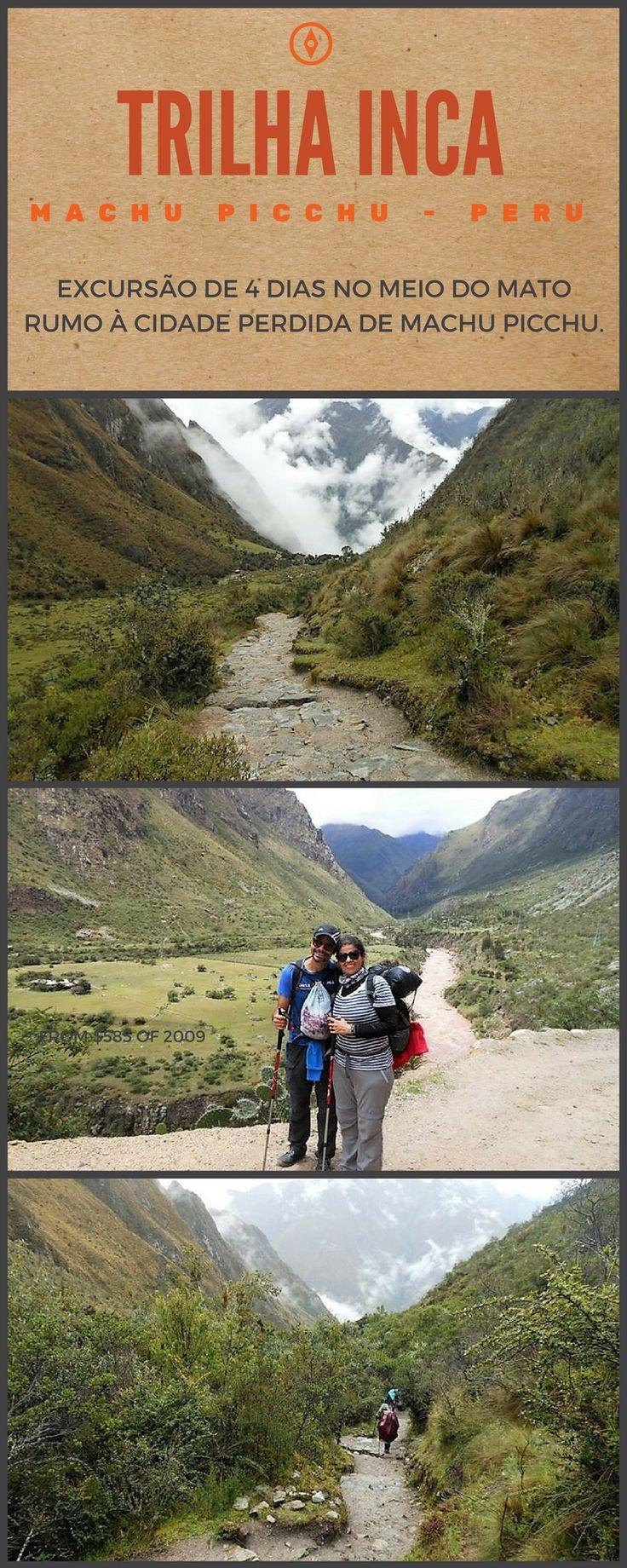 Visitar Machu Picchu no Peru é maravilhoso, mas imagine fazendo disso uma aventura? A Trilha Inca clàssica percorre 45 km e todos fazem esse percurso em 4 dias. Que tal?