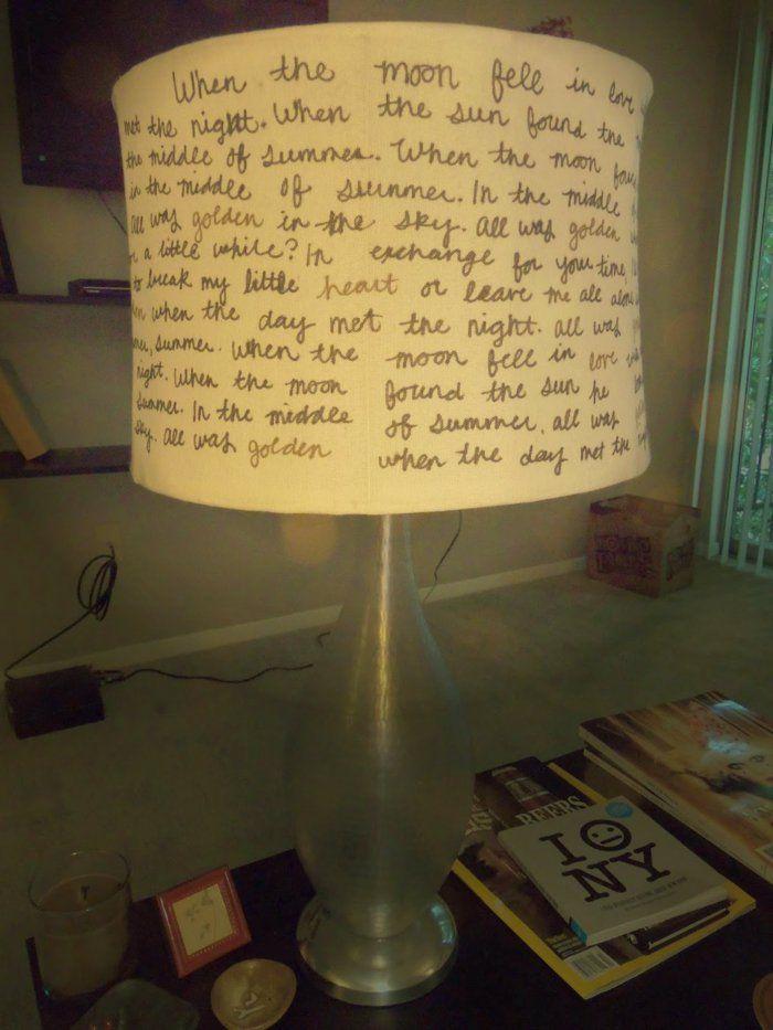 die 25 besten ideen zu lampenschirm selber machen auf. Black Bedroom Furniture Sets. Home Design Ideas