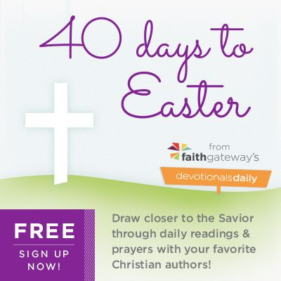 FREE Easter Devotional eBook and 40 Days to Easter Devotions