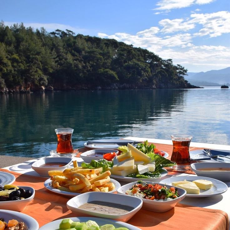 breakfast with view ~~Akyaka, Mugla // Photography by Derya Yazgı (@egedeyasam) • Instagram photo