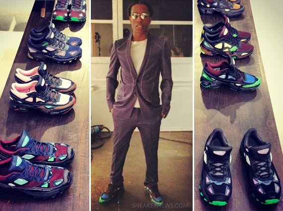 A$AP Rocky in Raf Simons x adidas #JetLife · Fresh KicksAsap ...