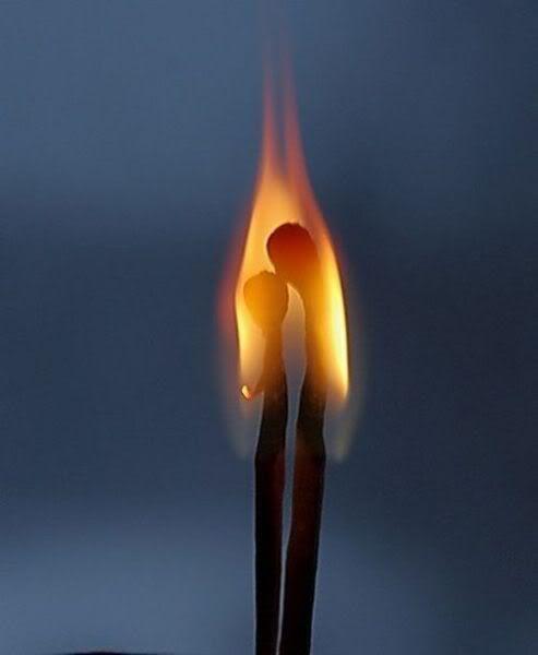 Kiss... Fire. enciendes mi amor
