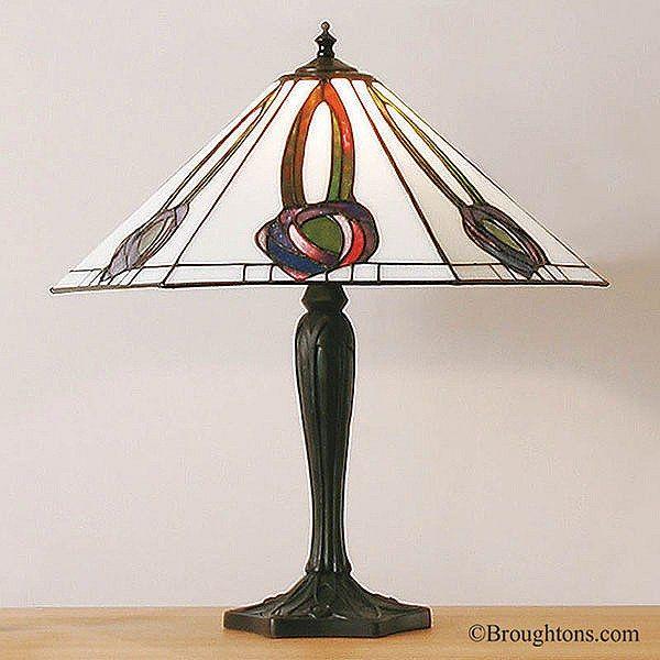 Interiors 1900 Helensburgh Large Tiffany Table Lamp