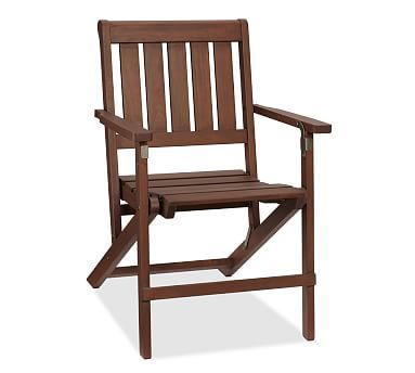 Chatham Folding Dining Chairs #potterybarn
