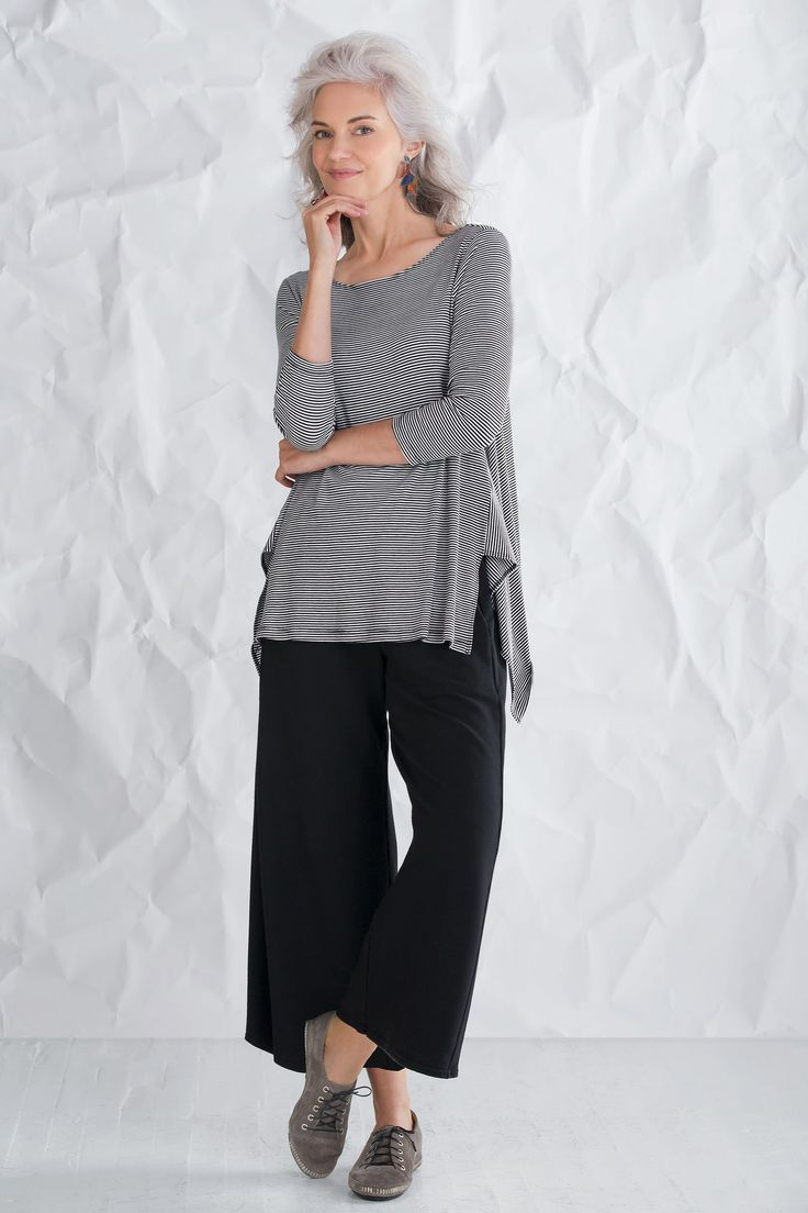 Vancouver Tunic by Comfy USA: Knit Tunic available at www.artfulhome.com