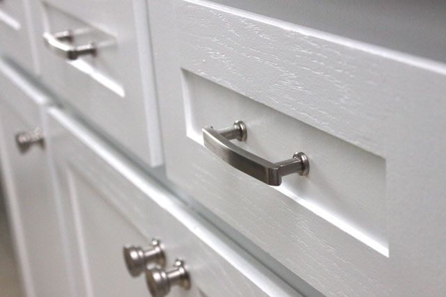 Cabinet hardware from target kitchen ideas pinterest for Adding hardware to kitchen cabinets