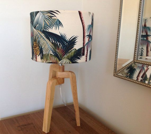 Palm Tree Lampshade Coastal Decor Lamp Shade by MyBeachsideStyle