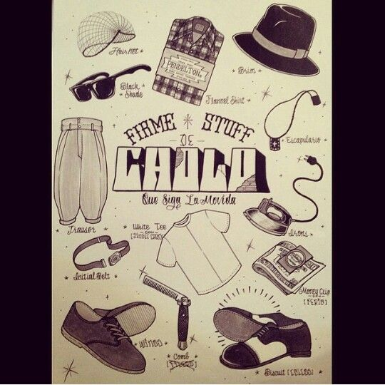 Only The Old School Cholos Greaser Pinterest The