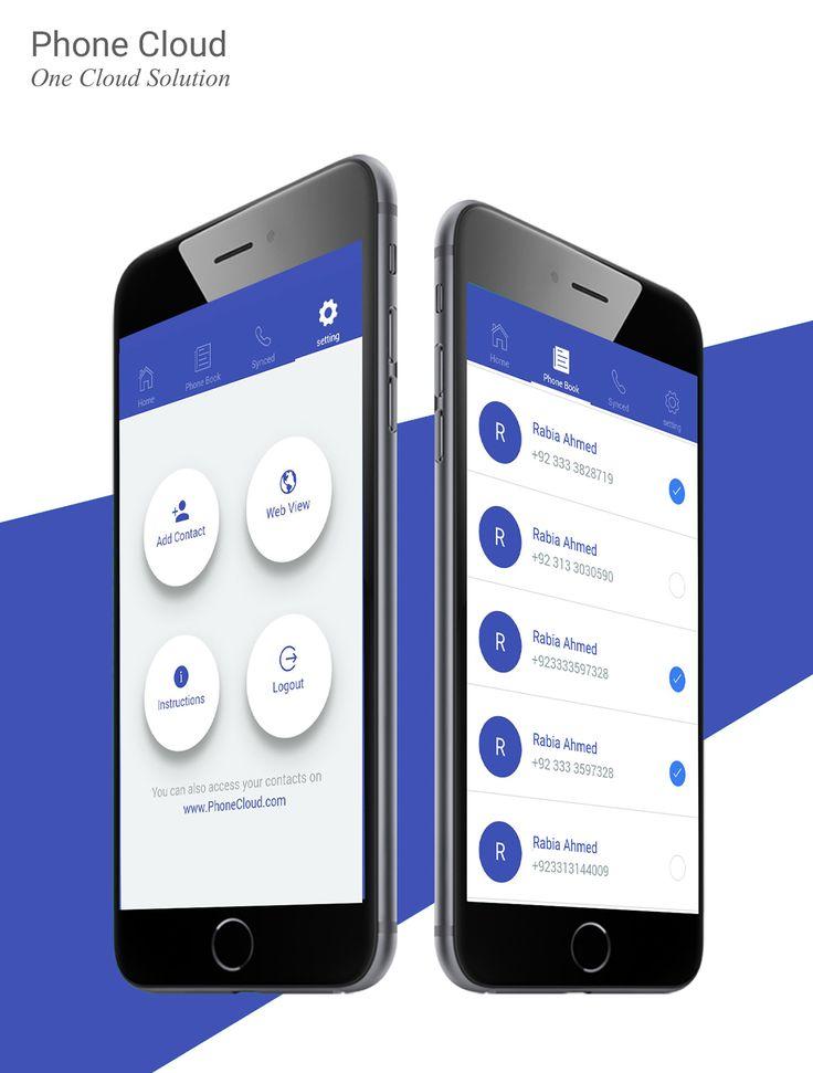 Mobile App Design on Behance