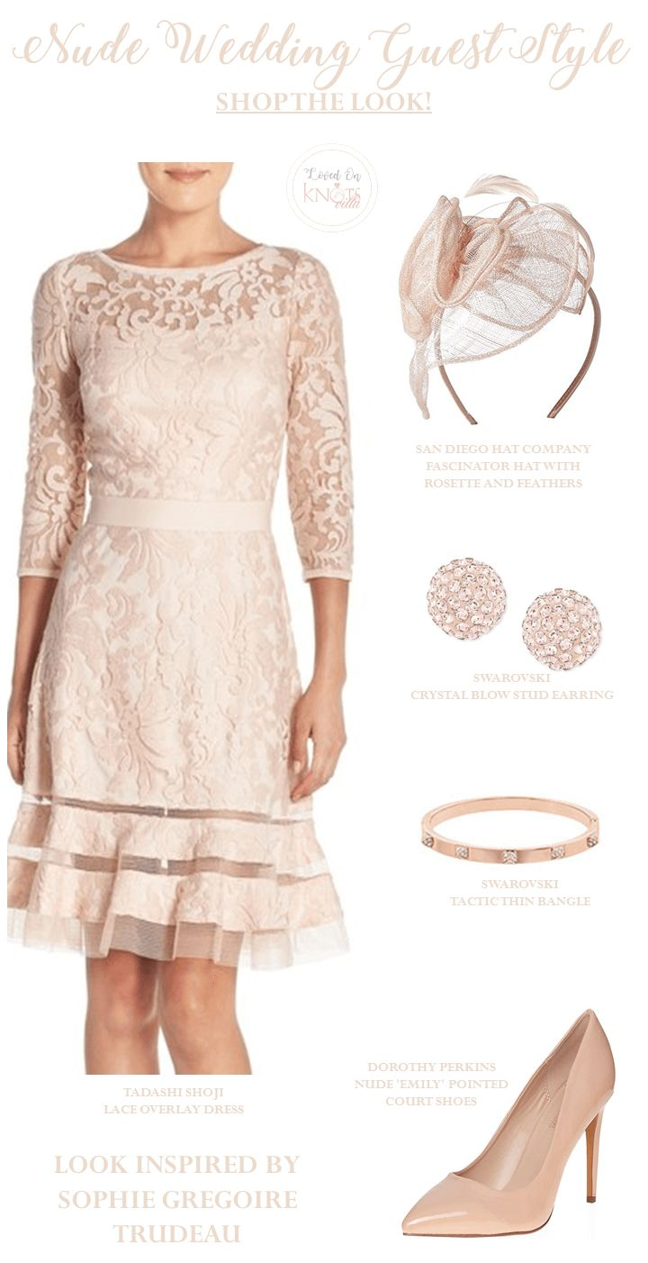 Nude Wedding Guest Style