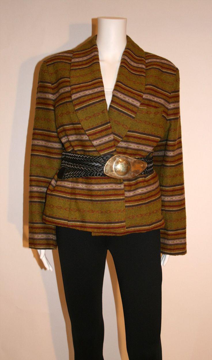 Laundry 80s Southwest Blanket Style Jacket