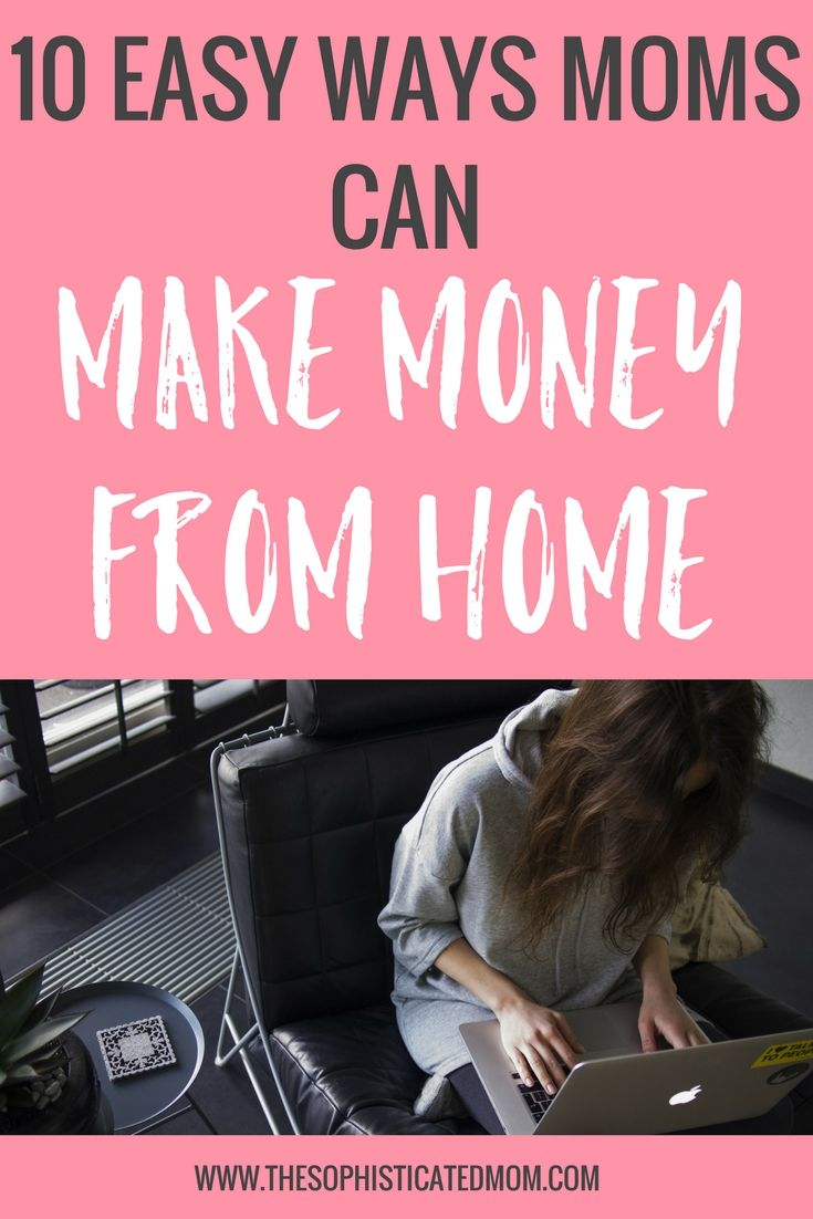 I have explored a variety of options to work from home. That way, I can tend to my home and my children while using my spare time during naps to be a little productive.Here are a few easy ways you can make money from home.