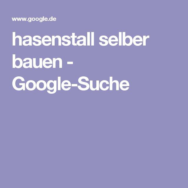 hasenstall selber bauen - Google-Suche