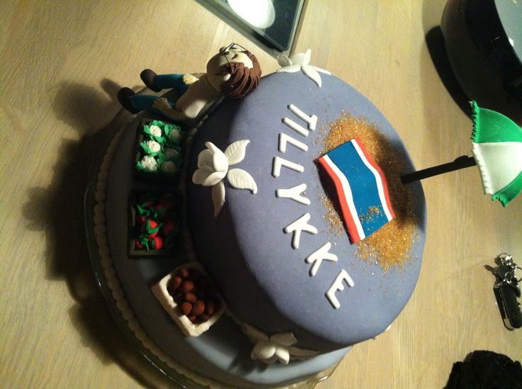 Birthdaycake for my dad