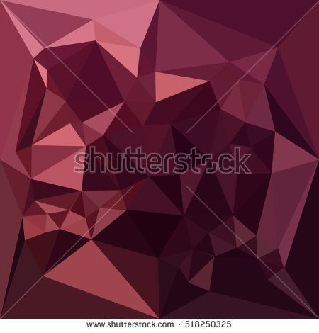 Low polygon style illustration of a dark raspberry red abstract geometric background. #abstractbackground #lowpolygon #illlustration