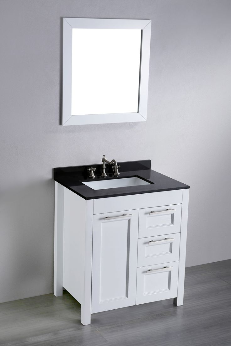 Photographic Gallery white bathroom vanity cabinet