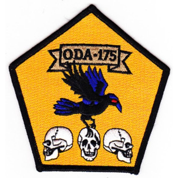 ODA-175 Patch  United States ARMY B Co 3rd Battalion 1st Special Forces Group Operational Detachment A...