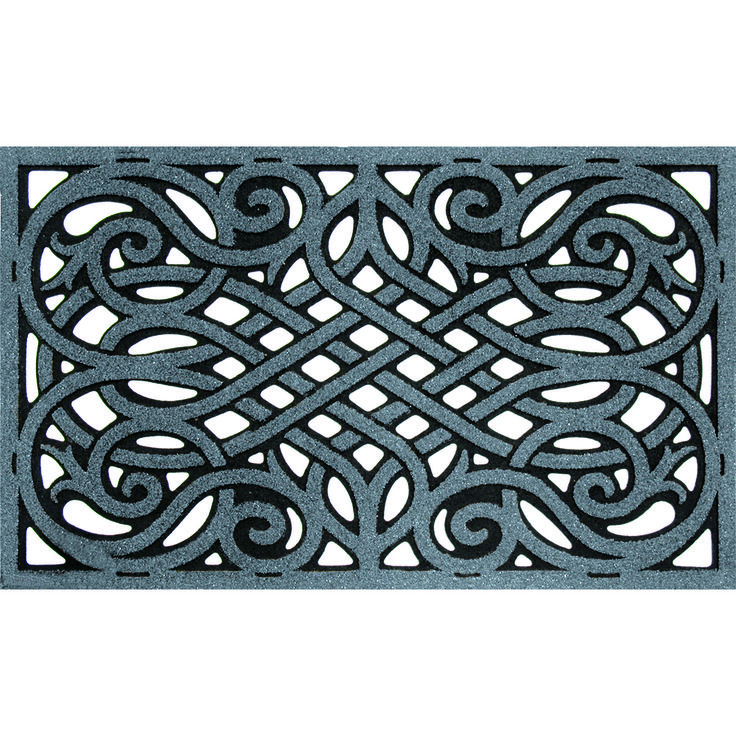 Wrought Iron Graphite Solid Neutral Colors To