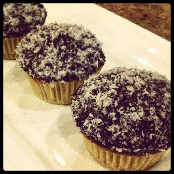 Thermomix Lamington Muffins!!