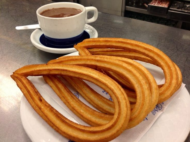 Churros con Thermomix