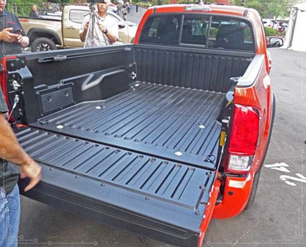 2016 Toyota Tacoma Bed Dimensions Recommendation Pinterest And Cars