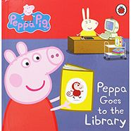 Peppa Pig - Peppa Goes To The Library // £3 at The Works! Huge range of Peppa stuff for your little ones.