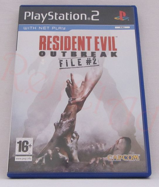 Resident Evil Outbreak File 2 PS2 game