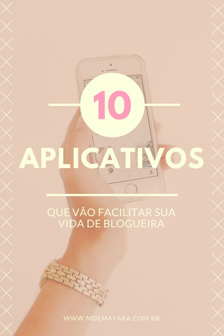 Você blogueira que faz grande parte do trabalho do blog pelo celular, aqui vão dicas de edição, organização, divulgação entre outras! Esses aplicativos vão facilitar sua vida.