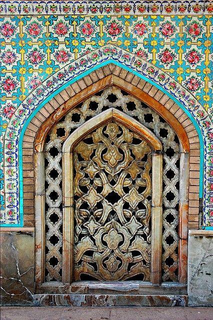 Moroccan Door. Gorgeous colors.