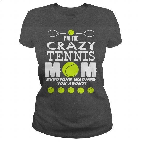 CRAZY TENNIS MOM - #funny t shirt #music t shirts. SIMILAR ITEMS =>…