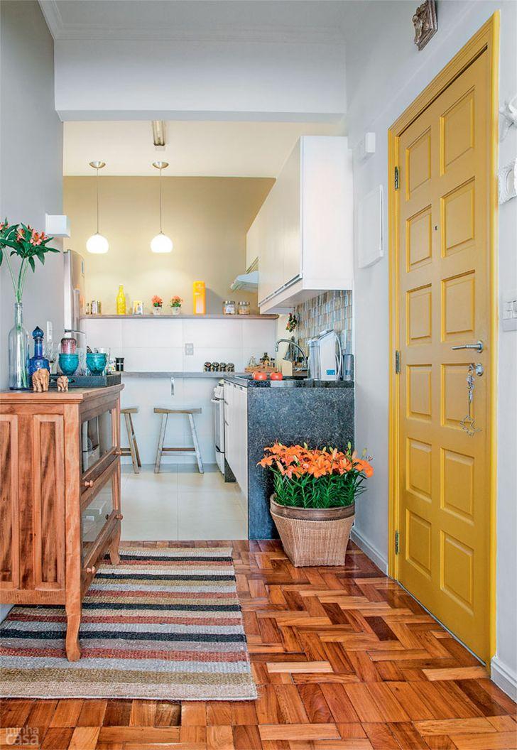 5 plantas e projetos decorados de casinhas pequenas charmosas e confortáveis - Casinha Arrumada