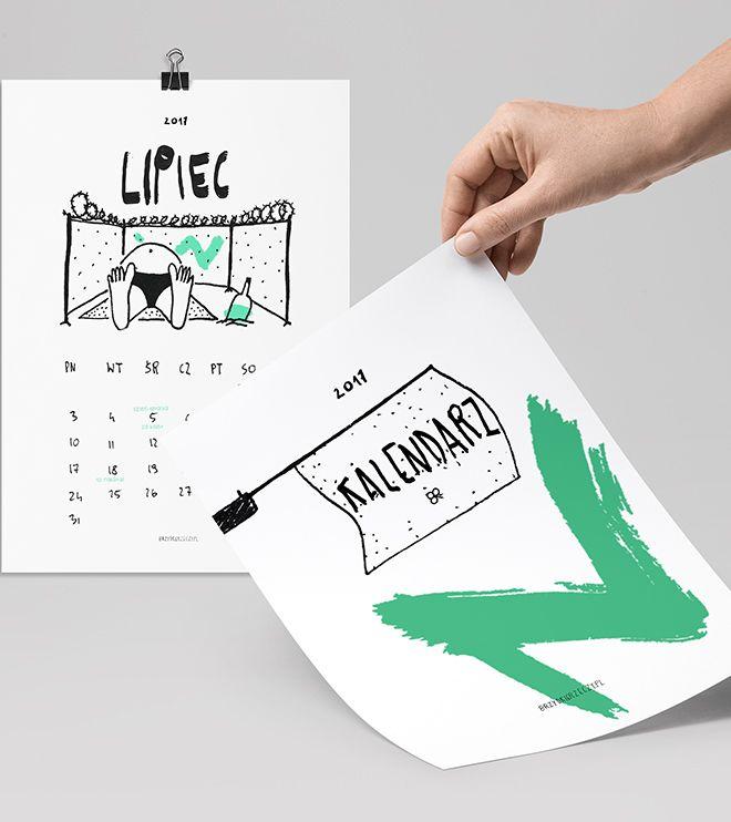Kalendarz Brzydkie Rzeczy 2017 (do wydrukowania)