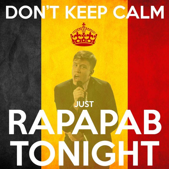Loïc Nottet ❤️ #rapapab tonight