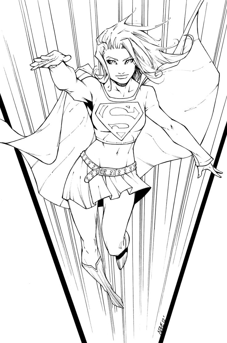 310 best LineArt: Superman-Family, Friends & Foes images on ...
