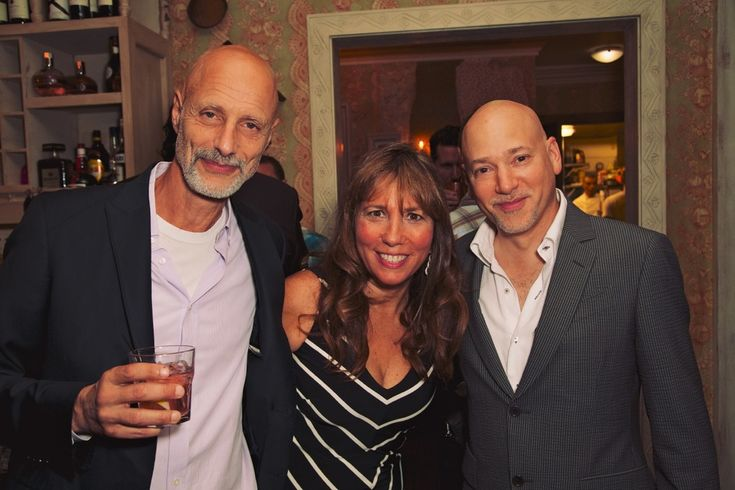 Robert Baruc - Robin Bronk - Evan Handler  Mari Vanna LA's One Year Anniversary Party - Los Angeles, CA  (July 24, 2014) Last night, over 200 Angelenos and VIPs turned out for Mari Vanna LA's one year anniversary party. Owner Tatiana Brunetti was joined by high profile attendees such as Alfred Molina, Omar Miller, Max Azria, Clifton Collins Jr., Leslie David Baker, Jeff Rice, Chris Williams and more to celebrate the restaurant's first milestone.