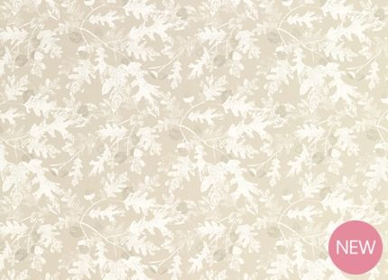 Oakshaw Truffle Floral Wallpaper from laura Ashley