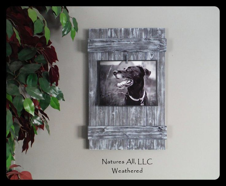 Rustic Picture Frame-8x10/ Home Decor Ideas/Country Picture Frame/Country Home Decor/Weathered Gray/Shipping Included!