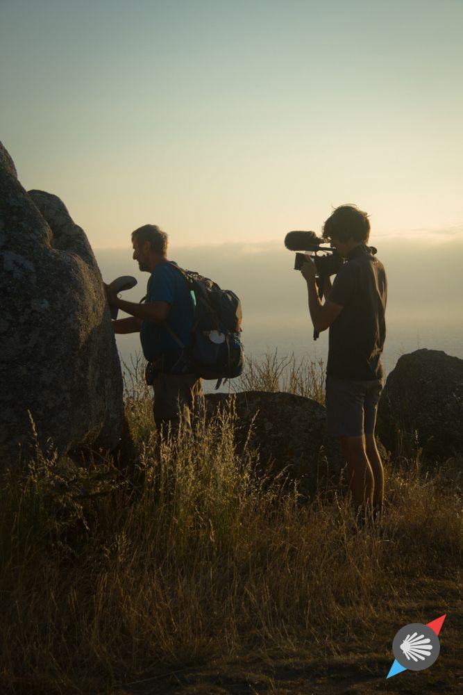 Final shots! #pilgrim #movie #Finisterre photo made by Katarzyna Kędzierska