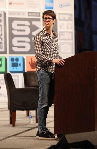 Rachel Maddow at SXSW Rocking it...