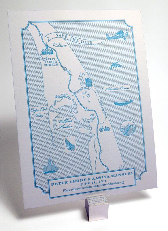 Just Paper custom map design