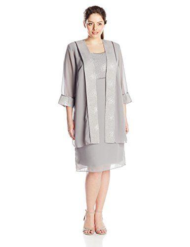 Plus size jacket dresses sale