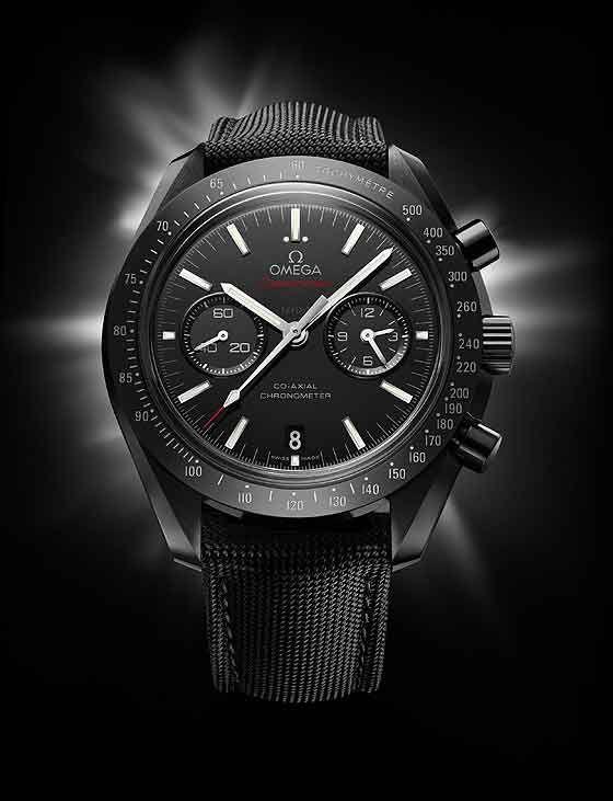 "The New Omega Moonwatch: Speedmaster ""Dark Side of the Moon"" in Black Ceramic"