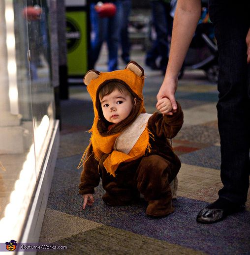 ewok toddler halloween costume contest at