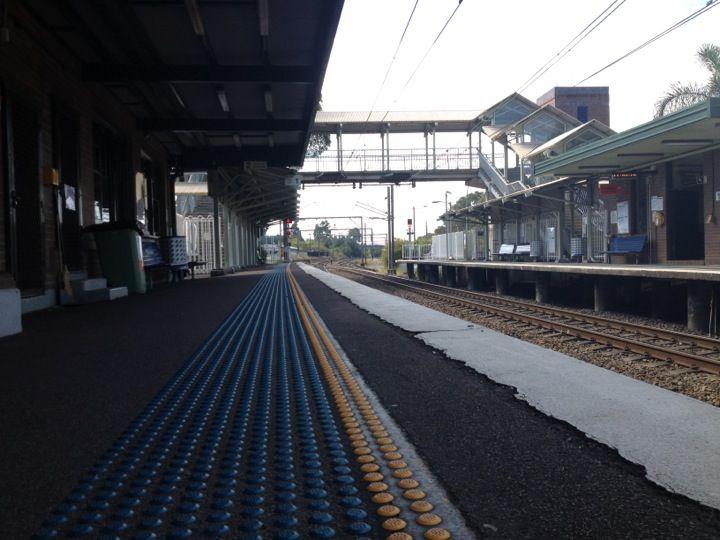 Morisset Station in Morisset, NSW