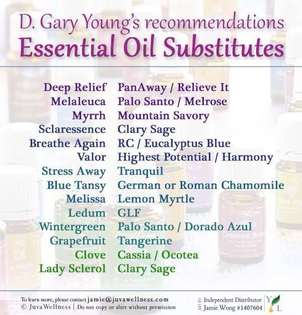 Young Living Essential Oils: Gary Young Essential Oils Substitutes https://www.youngliving.com/signup/?site=US&sponsorid=1573462&enrollerid=1573462
